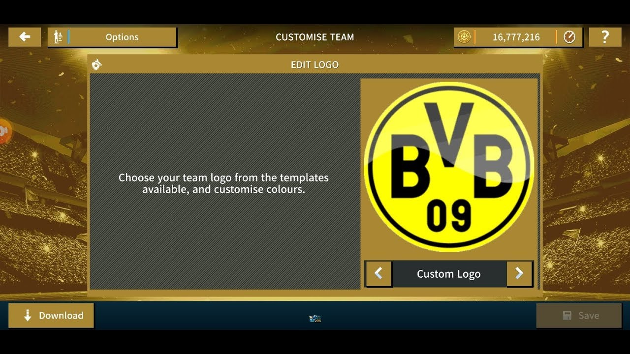 Dream League Soccer 2020 - Import Logo Borussia Dortmund