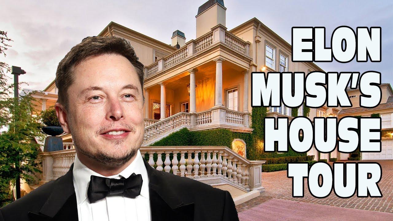 Elon Musk's House Tour - Bel Air Mansion