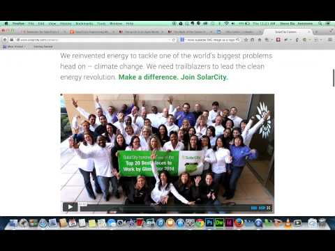 SolarCity Website - new user experience review