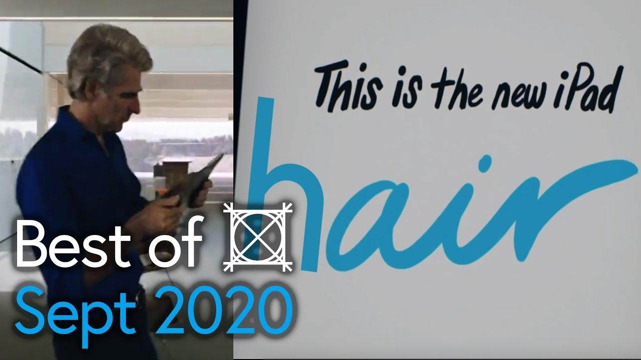 Random Craig Federighi Appearances Best Of Sept 2020 Apple Event Youtube