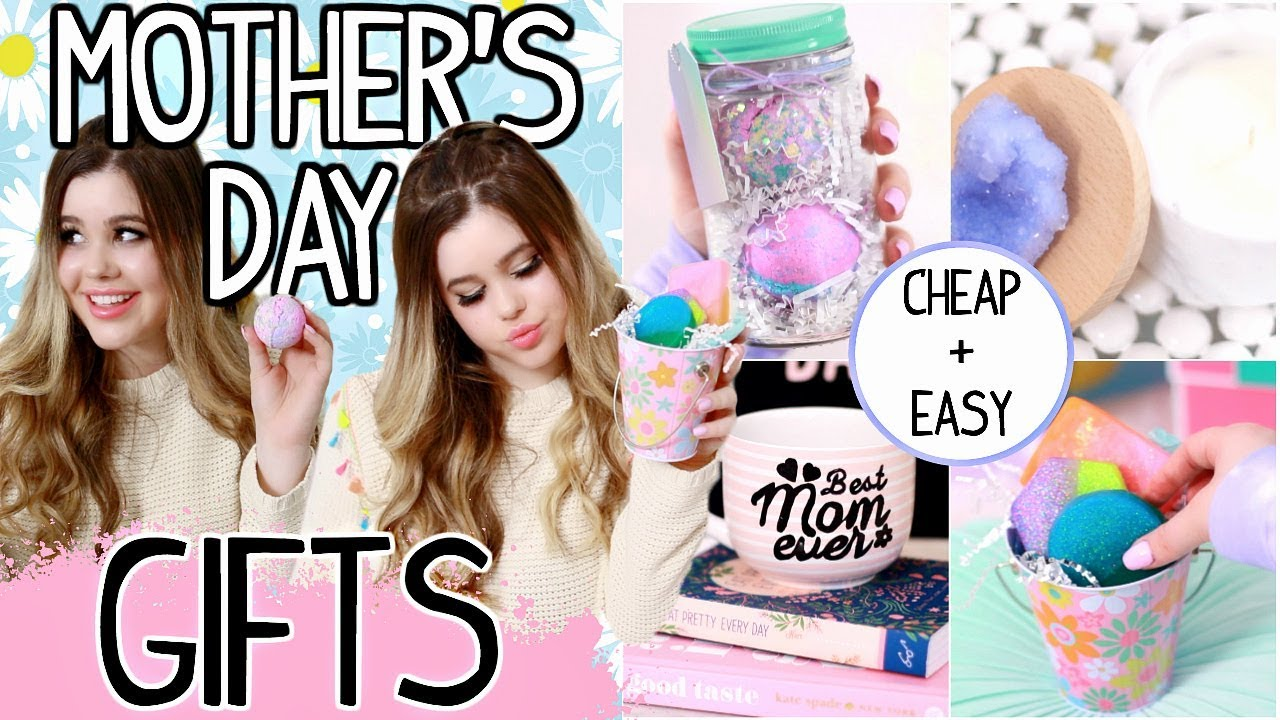 Easy Last Minute Diy Mother S Day Gifts 2018 Cheap Cute