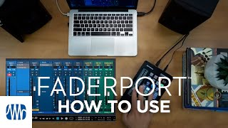 PreSonus—How to use the FaderPort
