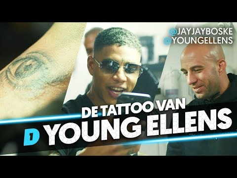 NEEMT YOUNG ELLENS EEN NEK TATOEAGE? // DAY1 BOLD INK #2