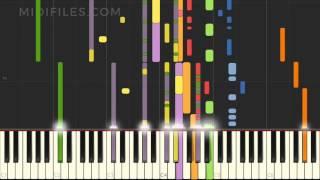 Escápate Conmigo / Wisin ft. Ozuna (MIDI Karaoke versión)