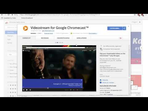 Videostream For Chromecast  [how To Install +  Example With Subs]