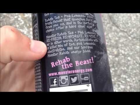 Energy Drink Review #94 - Monster Rehab Pink Lemonade