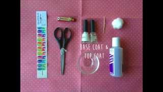 How to Apply Nail Art Decals by Misfit Market Thumbnail