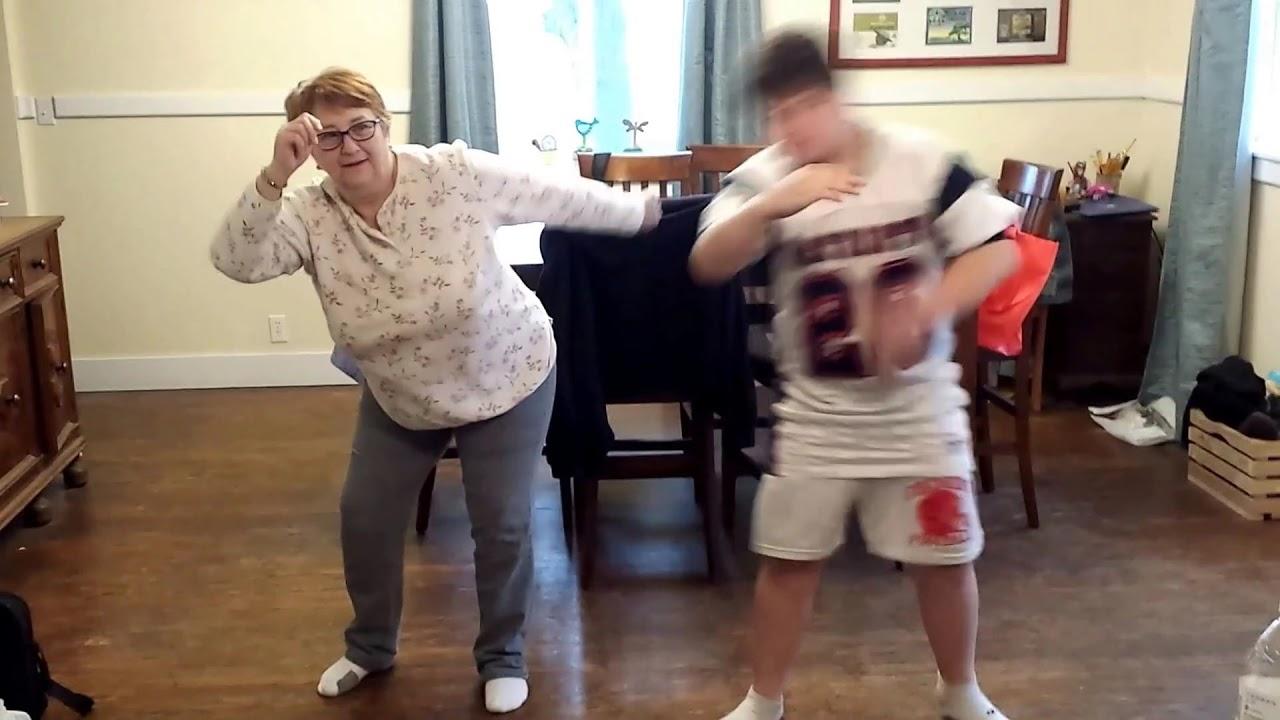 when elders dance grandma and grandson dance youtube