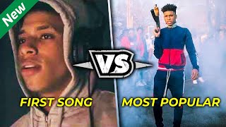 Rappers First Songs vs  Most Popular Songs 2019 (NLE Choppa, XXXTENTACION, Ski Mask & More)