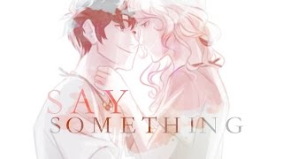 Repeat youtube video Percy and Annabeth- Say Something
