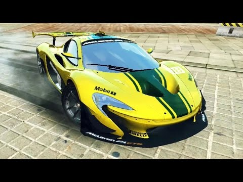 asphalt 8 mclaren p1 gtr 1716 barcelona youtube. Black Bedroom Furniture Sets. Home Design Ideas