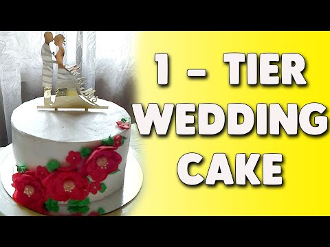 simple-1-tier-wedding-cake-in-boiled-icing