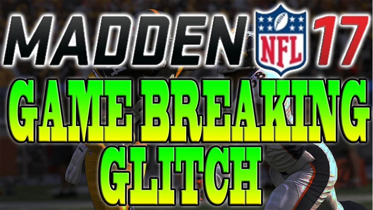 Madden 17 Game Breaking Glitch Dont Play Any Head To Head Matches Until This Is Patched Youtube