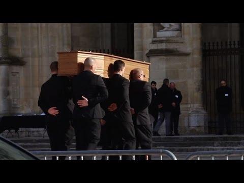 Obsèques du président de la FNSEA Xavier Beulin