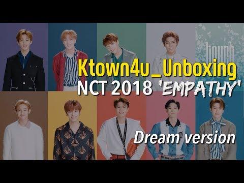 Ktown4u Unboxing] NCT 2018 [Empathy] Dream Version 엔시티