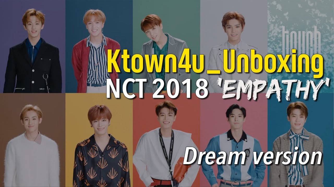 [Ktown4u Unboxing] NCT 2018 [Empathy] Dream Version 엔시티
