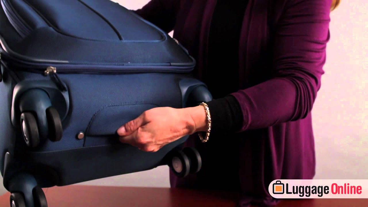 Samsonite Hyperspace Collection Review at LuggageOnline