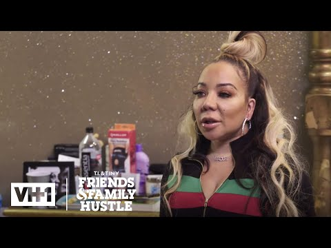 Tiny Is Upset w/ TIP's Invitation | T.I. & Tiny: Friends & Family Hustle
