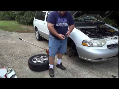 How To: Install Front Brake Pads and Calipers (Mercury Villager / Nissan Quest)