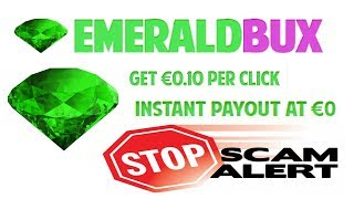 emeraldbux.com Payment Proof Scam, Find-out Your Self.