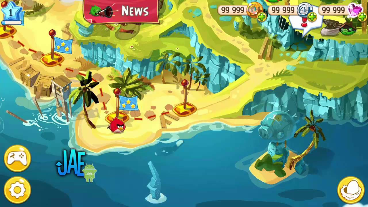 Angry Birds Epic RPG MOD APK+DATA 1.4.8 Unlimited Money - YouTube