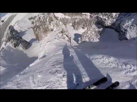 Skiing Kirkwood's Heart Chute