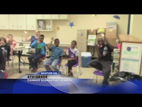 Rob's Weather 101 with 4th Graders at Cainhoy Elementary School