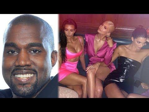 "Kanye West Admits He'd ""SMASH"" Kim's Sisters?!"