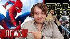 Neuer SPIDER-MAN Filmtitel enthüllt! | STAR WARS Spin-Offs gestoppt? - FILM NEWS