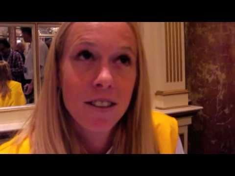 Kim Smith, 2011 Boston Marathon Press Conference
