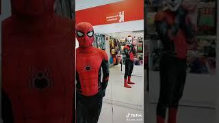 Spider man/ momentos graciosos/ tik tok.