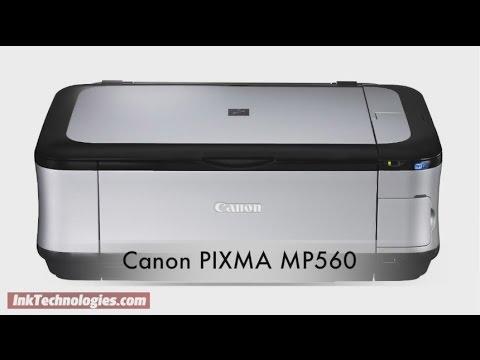 Canon PIXMA MP560 Instructional Video