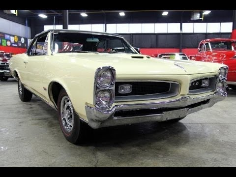 1966 Pontiac GTO Convertible Test Drive Classic Muscle Car for Sale in MI Vanguard Motor Sales
