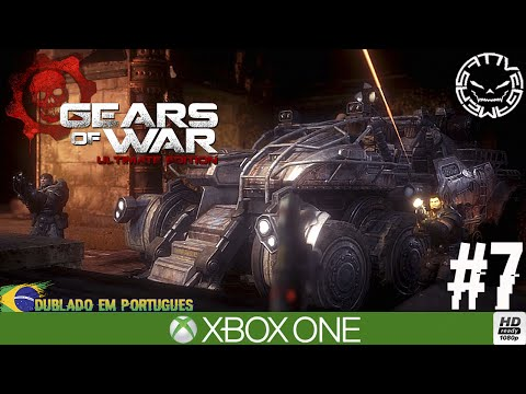 GEARS OF WAR ULTIMATE EDITION #7 O CARRO TANQUE - COOP CAMPANHA (Português-BR) 1080p