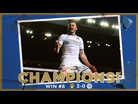 Champions! | Extended highlights | Win #8 Leeds United 2-0 QPR