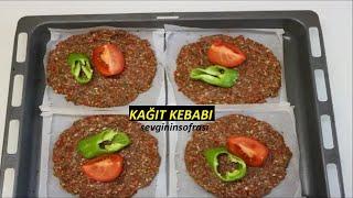 Kağıt Kebabı Tarifi Hatay Usulü & Yöresel Yemekler - sevginin sofrası