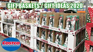 COSTCO CHRISTMAS GIFT BASKETS GIFT IDEAS Shop with me 2020