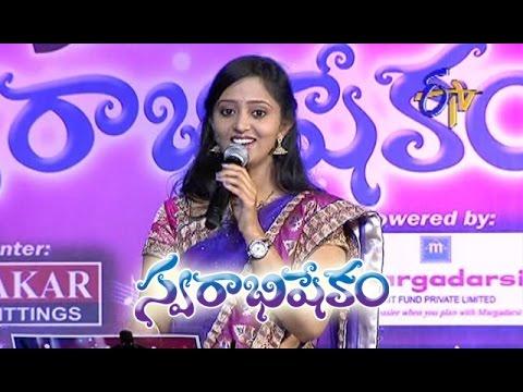 Evaru Lerani Anaku Song - Malavika Performance in ETV Swarabhishekam - Chicago,USA - ETV Telugu