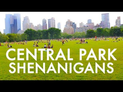 Central Park Shenanigans : Fulltime RV w/9 kids