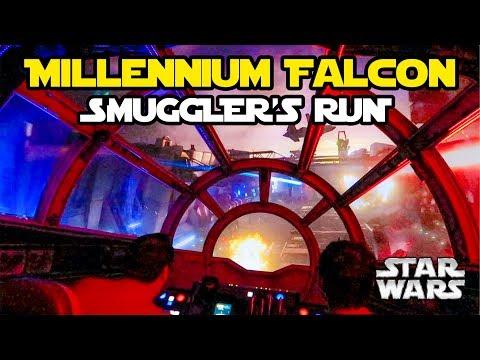 Star Wars: Galaxy's Edge (SPOILERS): Confira a íntegra da atração Smuggler's Run (Milennium Falcon).