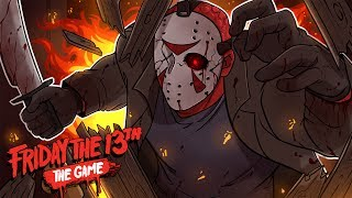 Friday the 13th: The Game | WHO'S DELIRIOUS NOW?! (w/ H2O Delirious, Mini Ladd, Ohm, Bryce, Gorilla)