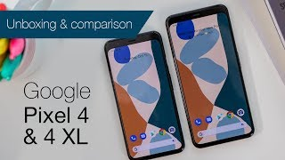 Google Pixel 4 and 4 XL unboxing