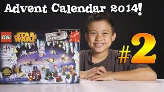 2014 LEGO STAR WARS Advent Calendar DAY 2 - Set 75056 + Question of the Day!