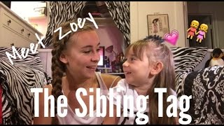 meet zoey the sibling tag   a b vlogs