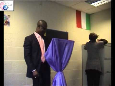 NANA ADJEI MINISTERING AT GOOD NEWS MINISTRIES IN THE HAGUE.wmv