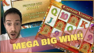 CAPTAIN VENTURE MEGA BIG WIN!! 118 Free Spins!! ( Online Casino )