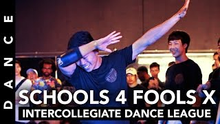Schools 4 Fools Chapter X Highlights • Intercollegiate Bboy Competition
