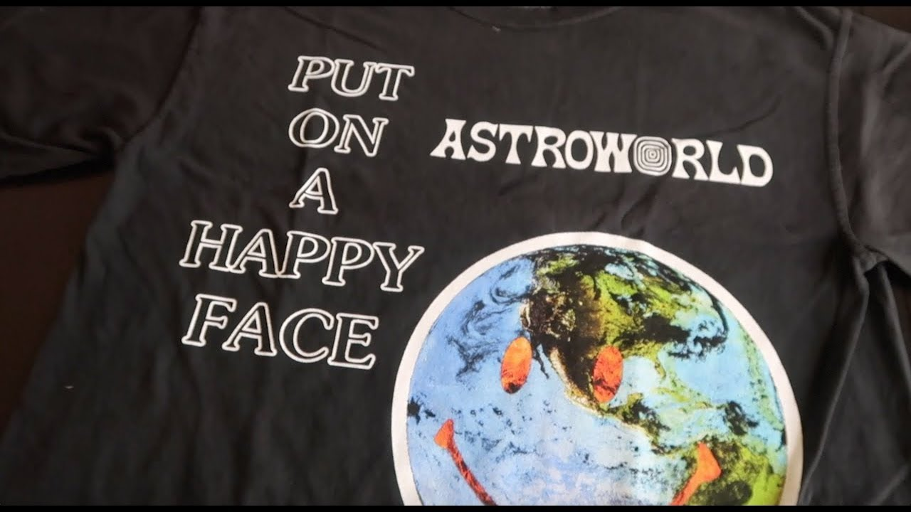 58171933d27a I Went To Astroworld And All I Got Was This F**kin T Shirt Travis ...