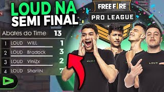 PASSAMOS NA PRO LEAGUE FASE 3! LOUD NA FASE SEMIFINAL DA LIGA DO FREE FIRE!!!