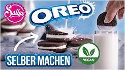 Oreo Kekse selber machen / Schmecksperiment #2 / Vegane Variante / Sallys Welt #WirBleibenZuhause